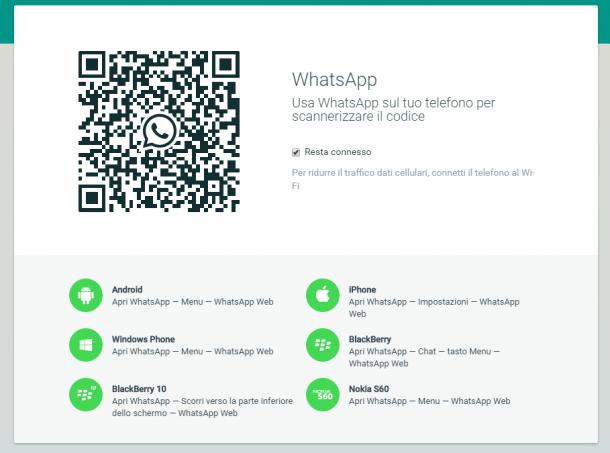 WhatsApp per Windows e Mac