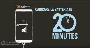 Caricare la batteria in 20 minuti