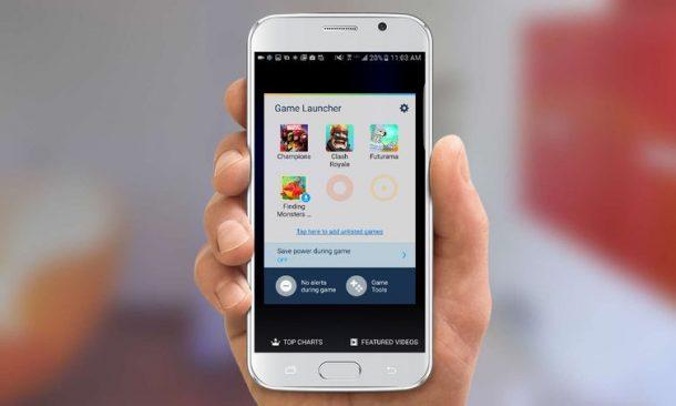 Come abilitare il Game Launcher su  Galaxy S7