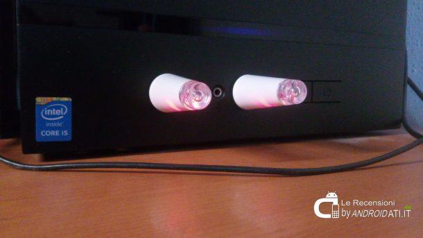 Specifiche tecniche e Funzioni: OxyLED 2-Pacco Luce Led