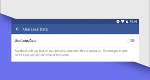 app di Facebook userà meno connessione dati