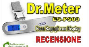 Recensione Dr.Meter ES-PS03 pesa valigie