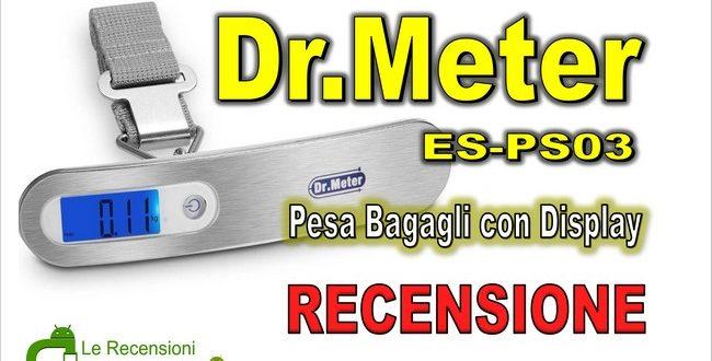 Recensione Dr.Meter ES-PS03: il pesa valigie da viaggio