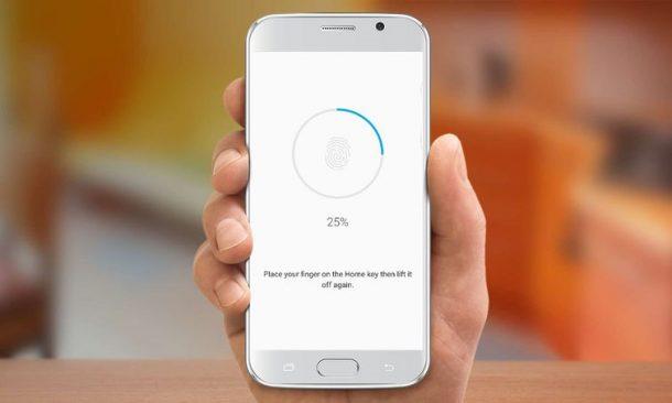 Come impostare lo sblocco di impronte digitali su Galaxy S7