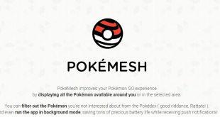 PokéMesh localizzare i Pokémon