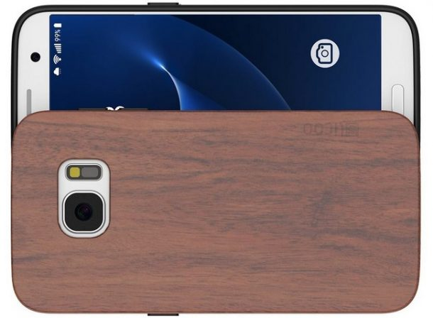 Cover Slicoo in legno per galaxy S7