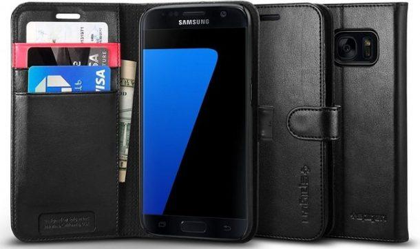 Cover Spigen Wallet S per Galaxy S7