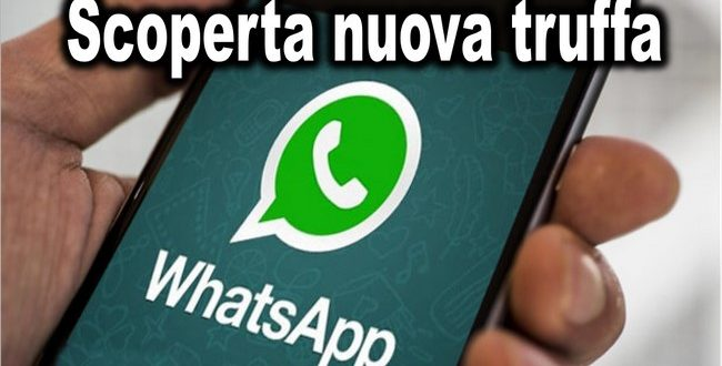 App android: Scoperta nuova truffa WhatsApp