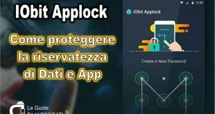 Come bloccare le App con IObit Applock