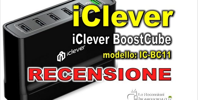 recensione iClever BoostCube IC-BC11