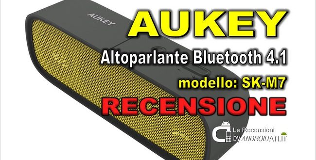 Recensione Aukey Altoparlante Bluetooth 4.1 Speaker Portatile