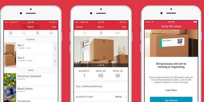 Sortly, la nuova app che mette in ordine la casa