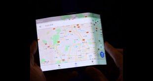 smartphone flessibile Xiaomi pieghevole