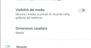 Whatsapp interfaccia