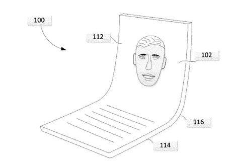 Google brevetta il suo schermo pieghevole