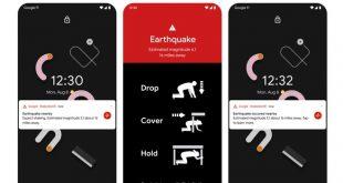 Google prevenzione terremoti app
